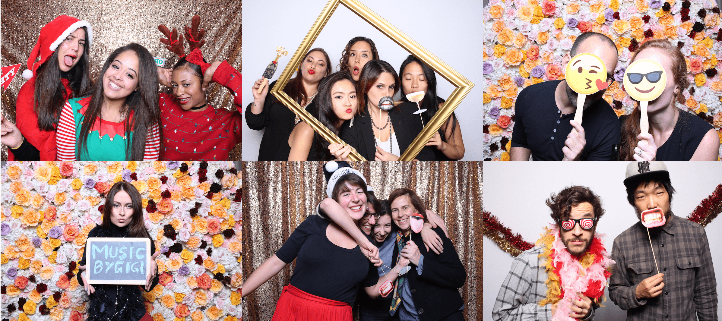 party photo booth pictures